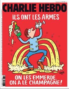 Couverture de Charlie Hebdo du 17/11/15