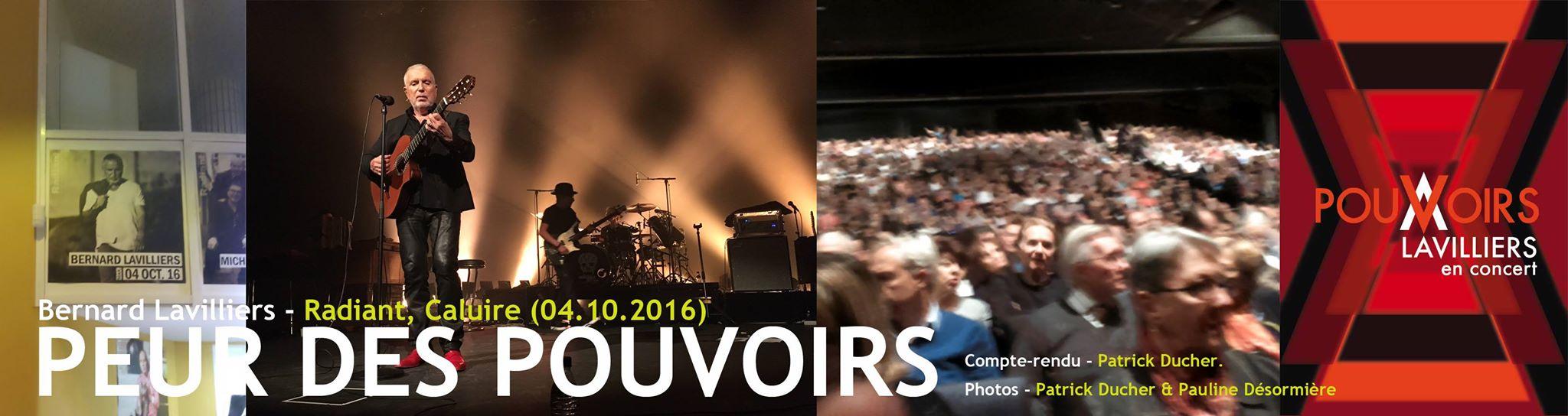 Concert Bernard Lavilliers - Radiant - Caluire
