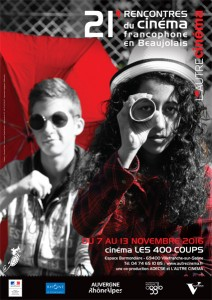 Affiche Rencontre du cinéma francophone en Beaujolais