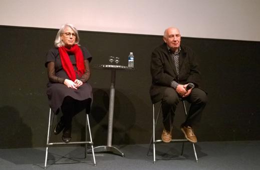 Claudine Nougaret et Raymond Depardon