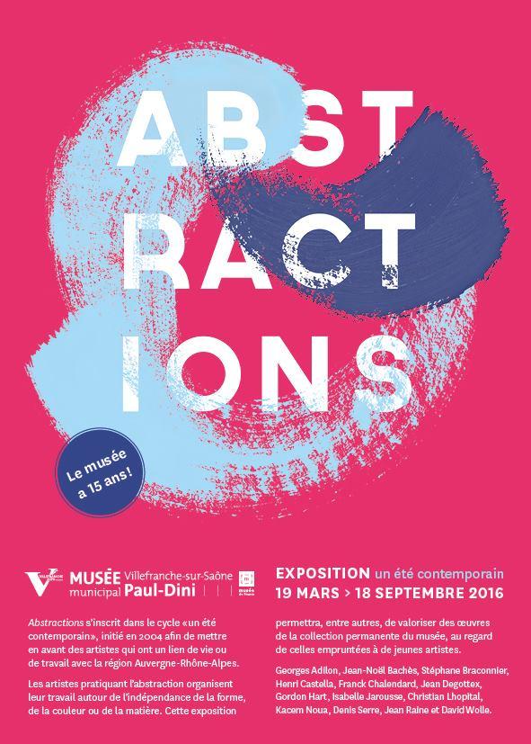 Abstraction, en ouverture des 15 ans du musée Dini