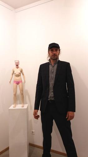 Le sculpteur Marcus Wittmers
