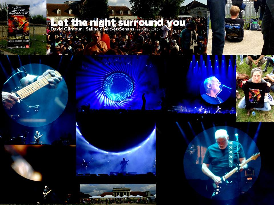 David Gilmour à Arc-et-Senans : Let the night surround you