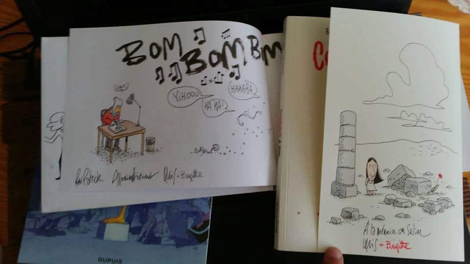 TRONDHEIM/FINDAKLY en dédicace à la libraire Expérience