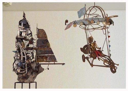Christian Jacques et Jean Branciard  à la galerie Chybulski
