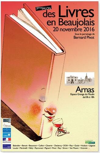 La romancière Marie-Hélène Branciard au 3e Salon du Livre d'Arnas