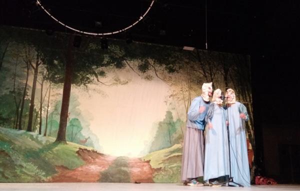 Le groupe Fantomas au Théâtre de Villefranche : 3 jours avec Merlin