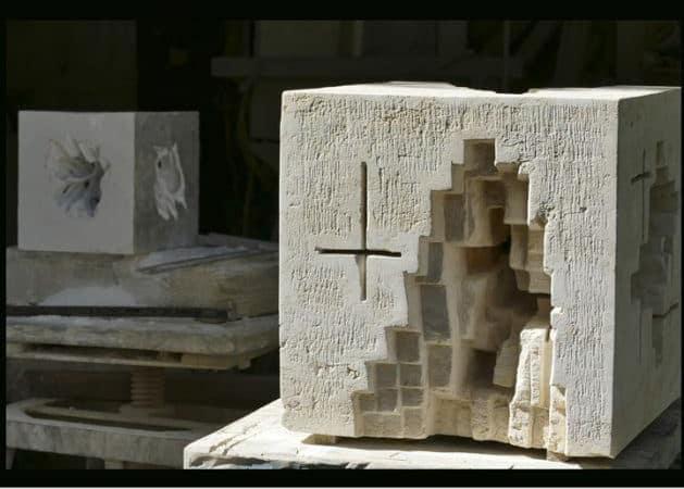 Le sculpteur Jean-Michel Debilly à la galerie Chybulski