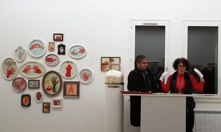 Mireï LR s'expose la galerie le 116art