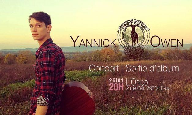 Découverte : le 1er EP du folk singer lyonnais Yannick Owen
