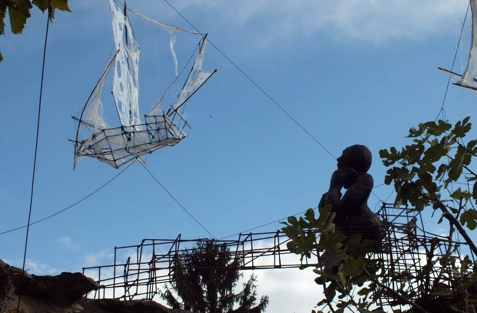 Exposition du  sculpteur Yves Henri au 116art