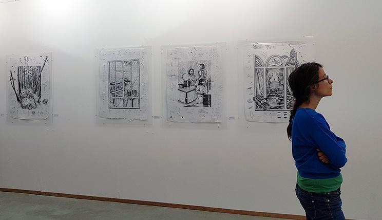 Le monde parallèle du livre O à la galerie Chybulski