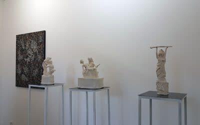 J'eux à la galerie Chybulski jusqu'au 7 juillet
