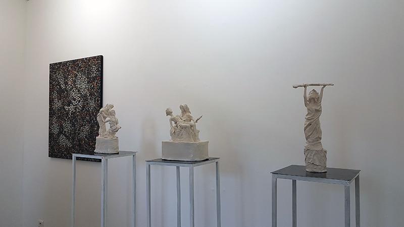 Exposition J'eux - Galerie Chybulski - juin 2019