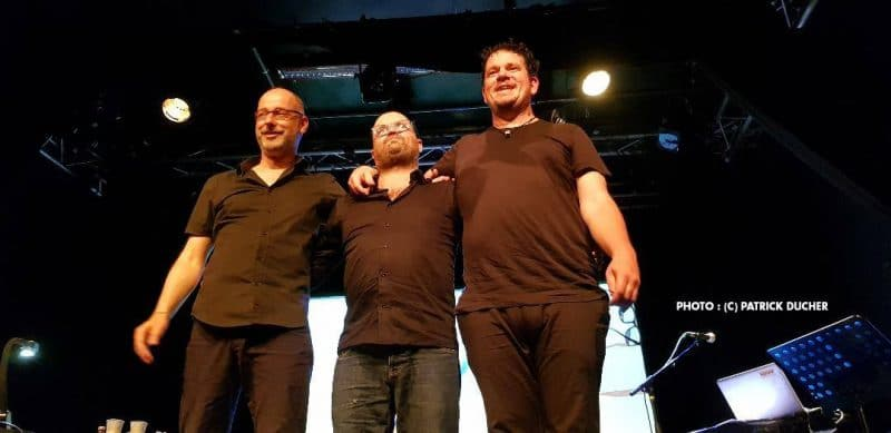 David Suissa et Stéphane Balmino avec Reinhard Kleist