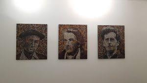 J'eux - Oeuvres de S. Ivanejev -  galerie Chybulski - juin 2019
