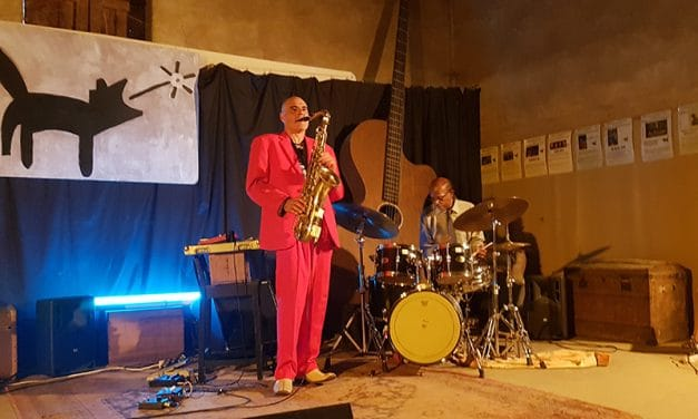 Revisiting Afrique : Sangoma Everett & Lionel Martin  en concert
